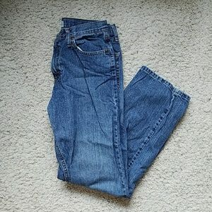 Lee relaxed straight leg jeans. Size 30x30.